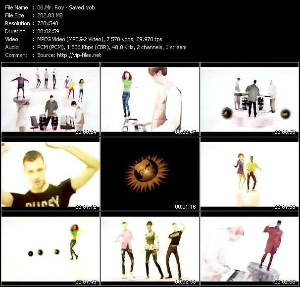 Mr. Roy video screenshot