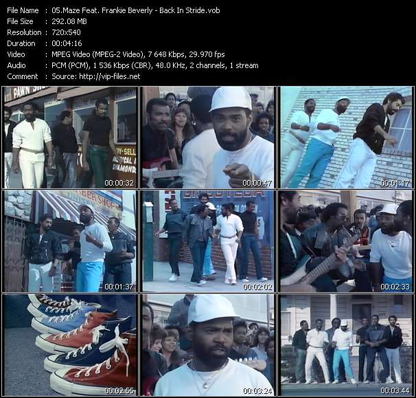 Maze Feat. Frankie Beverly video screenshot