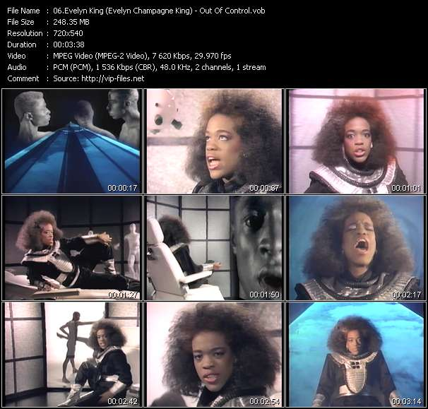 Evelyn King (Evelyn Champagne King) video screenshot