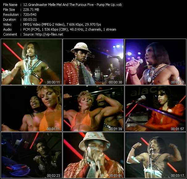 Grandmaster Melle Mel And The Furious Five video screenshot