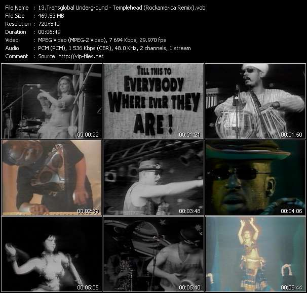 Transglobal Underground video screenshot