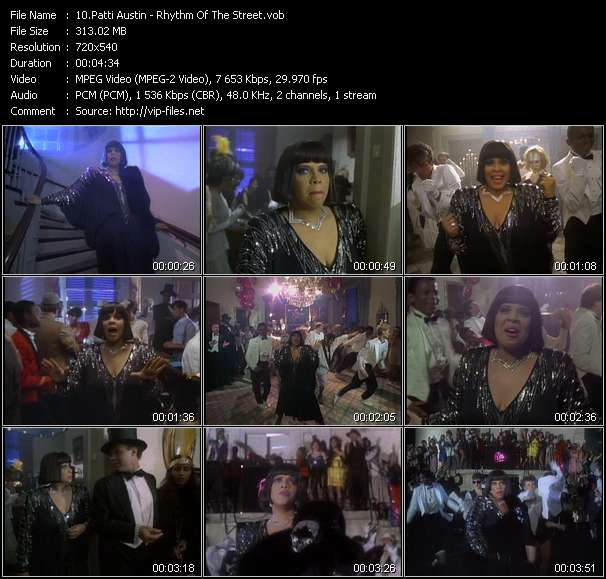 Patti Austin video screenshot