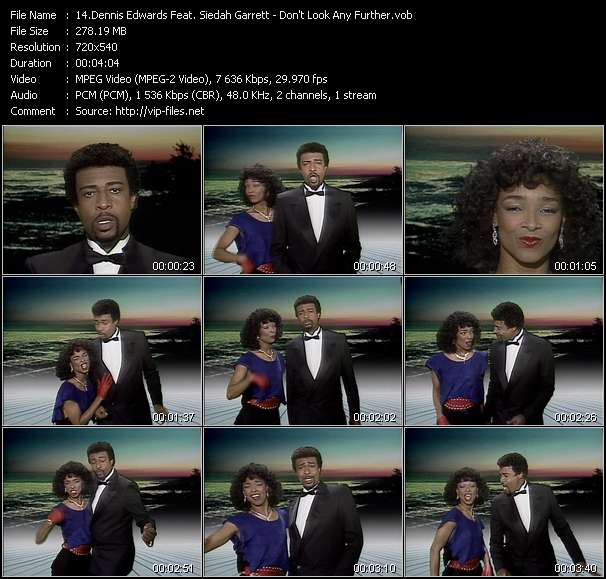 Dennis Edwards Feat. Siedah Garrett video screenshot