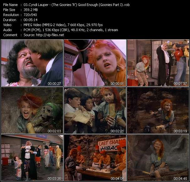 video (The Goonies 'R') Good Enough (Goonies Part I) screen