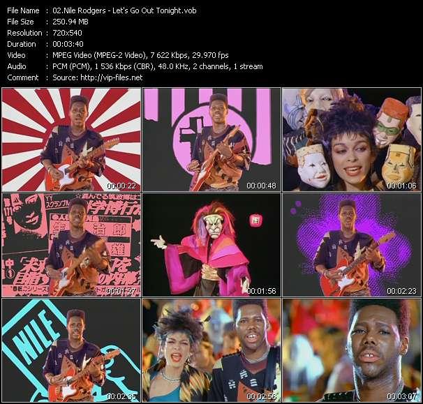 Nile Rodgers video screenshot