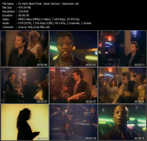 Herb Alpert Feat. Janet Jackson video screenshot