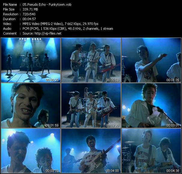 Pseudo Echo video screenshot