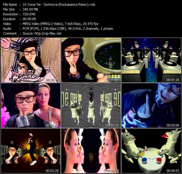 Towa Tei video screenshot
