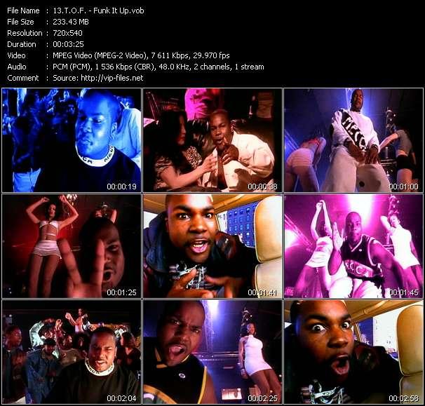 video Funk It Up screen