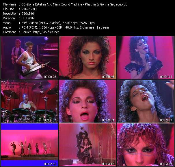 Gloria Estefan And Miami Sound Machine video screenshot