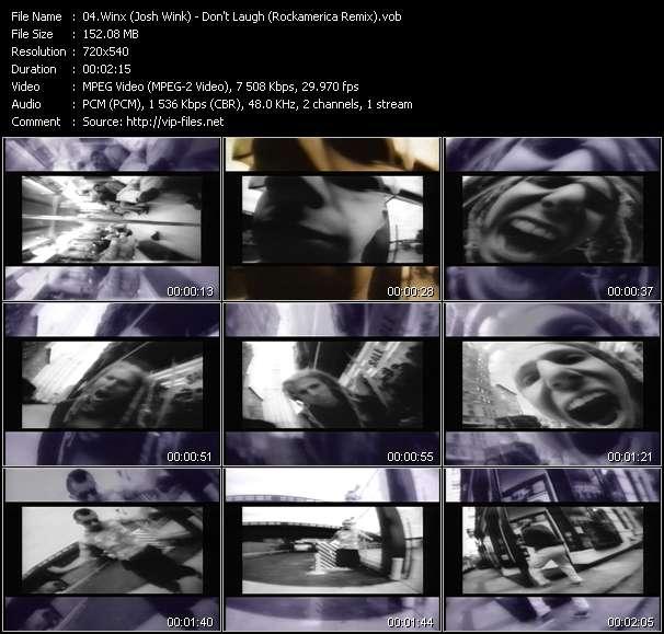 Winx (Josh Wink) video screenshot