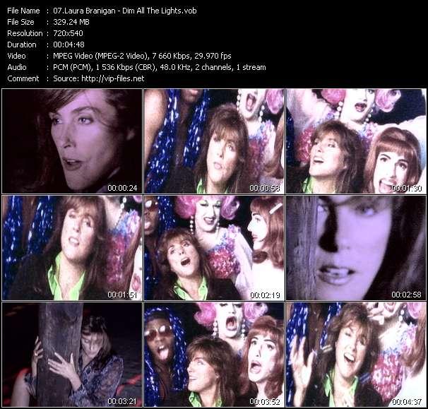 Laura Branigan video screenshot