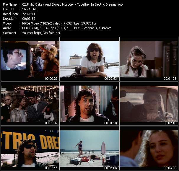 Philip Oakey And Giorgio Moroder video screenshot