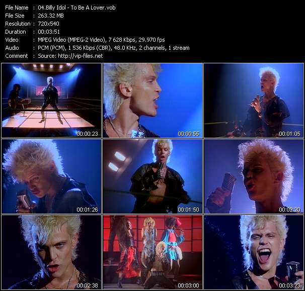 Billy Idol video screenshot