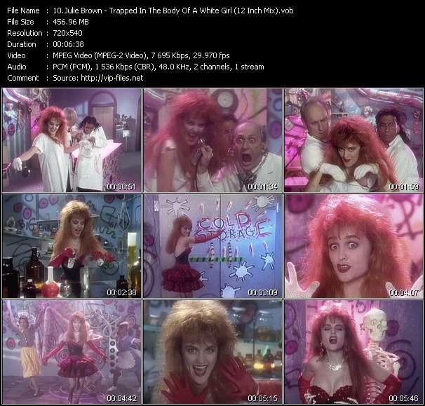 Julie Brown video screenshot