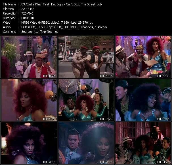 Chaka Khan Feat. Fat Boys video screenshot