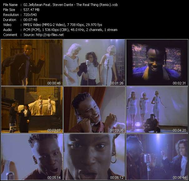 video The Real Thing (Remix) screen