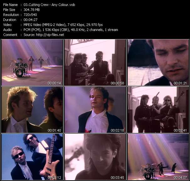 Cutting Crew video screenshot