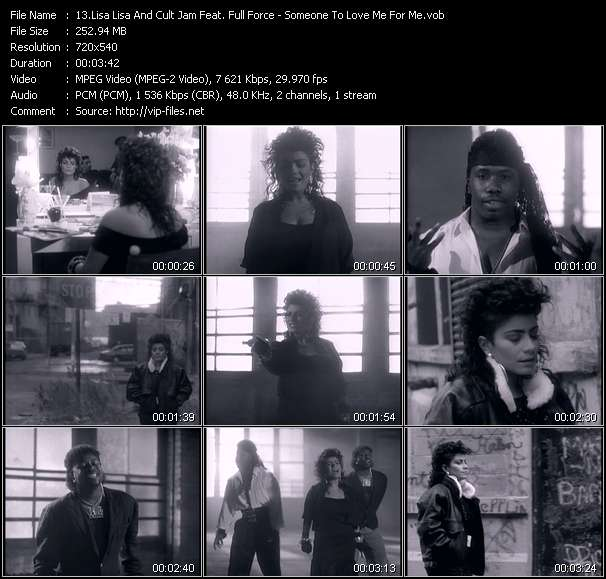 Lisa Lisa And Cult Jam Feat. Full Force video screenshot