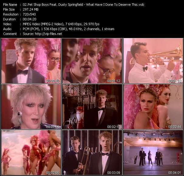 Pet Shop Boys Feat. Dusty Springfield video screenshot