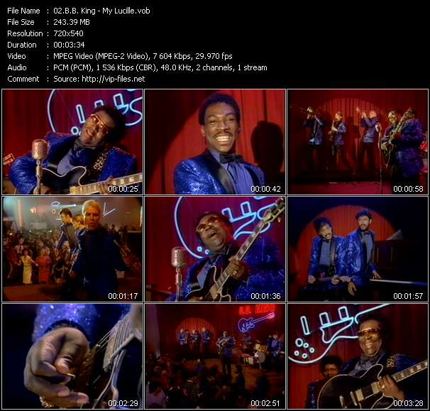 B.B. King video screenshot