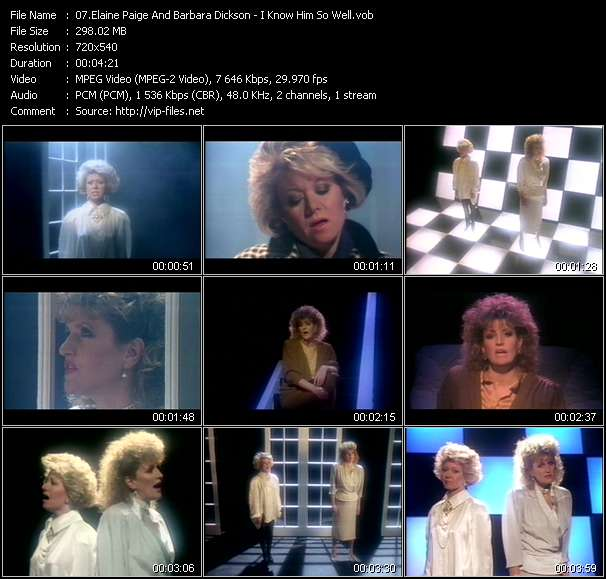 Elaine Paige And Barbara Dickson video screenshot
