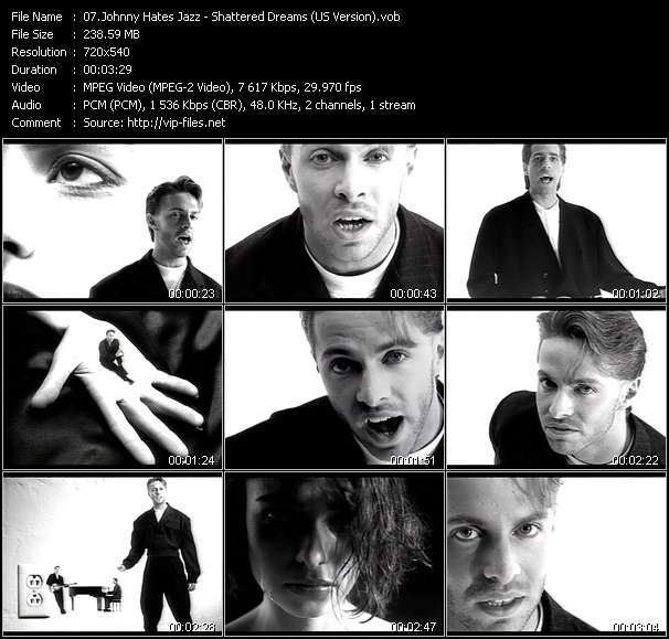 Johnny Hates Jazz video screenshot