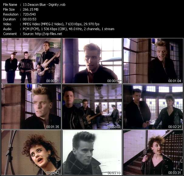 Deacon Blue video screenshot