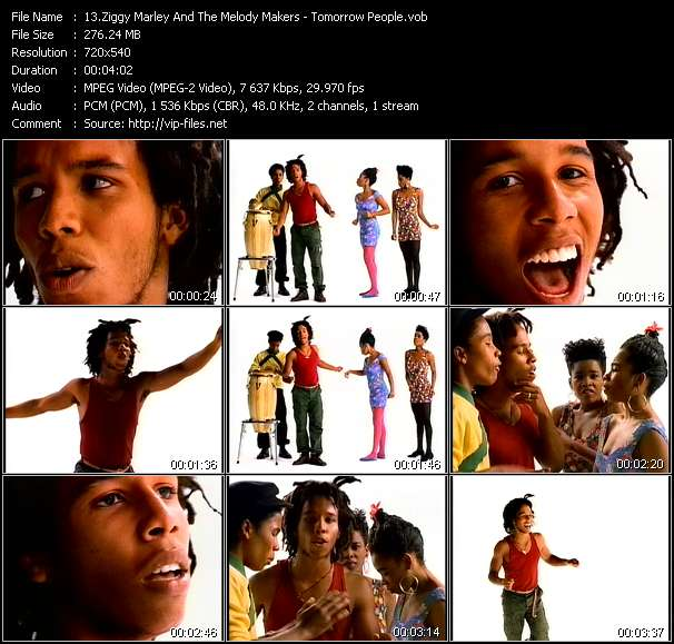 Ziggy Marley And The Melody Makers video screenshot