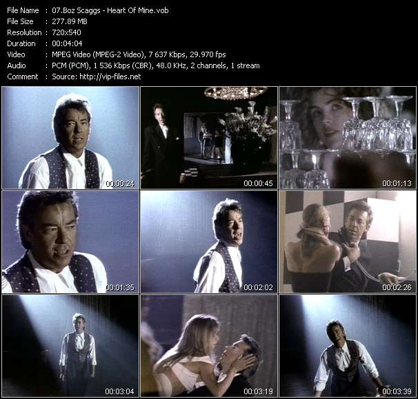 Boz Scaggs video screenshot