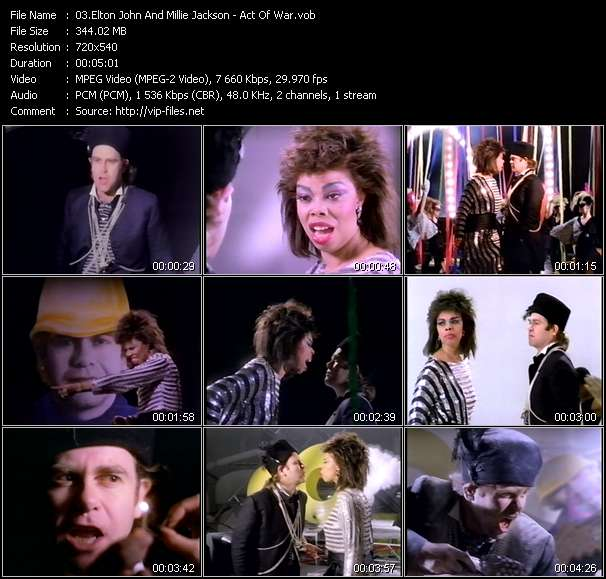 Elton John And Millie Jackson video screenshot