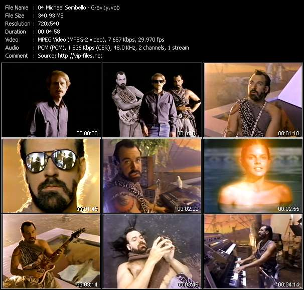 Michael Sembello video screenshot