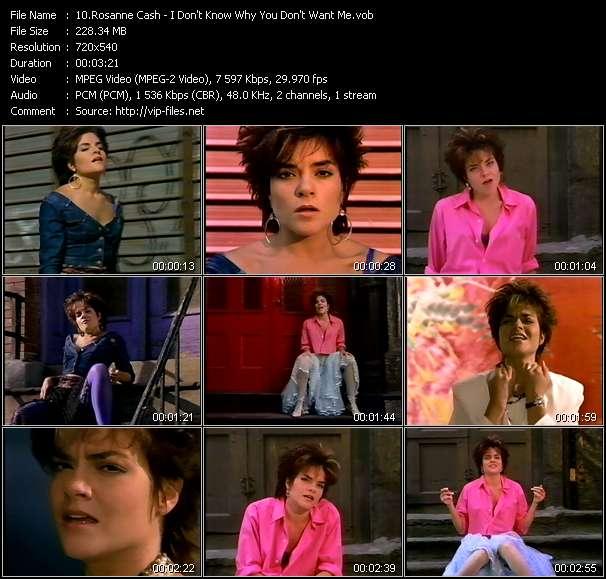 Rosanne Cash video screenshot