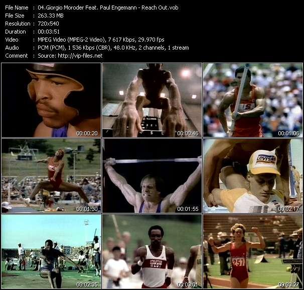 Giorgio Moroder Feat. Paul Engemann video screenshot