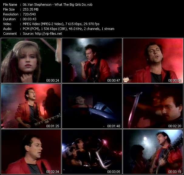 Van Stephenson video screenshot