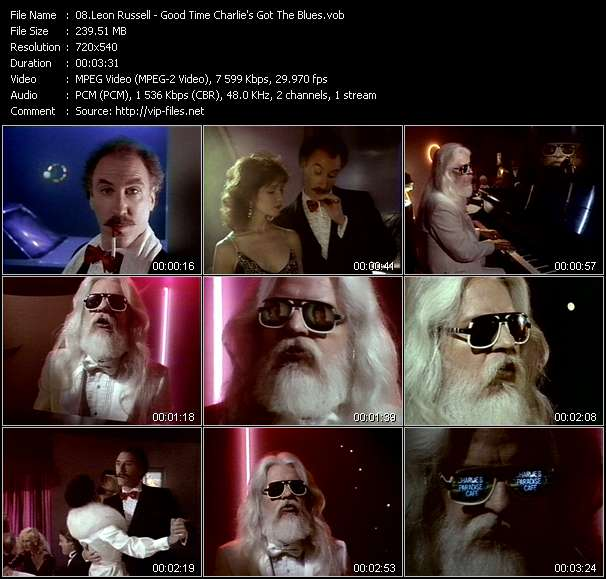 Leon Russell video screenshot
