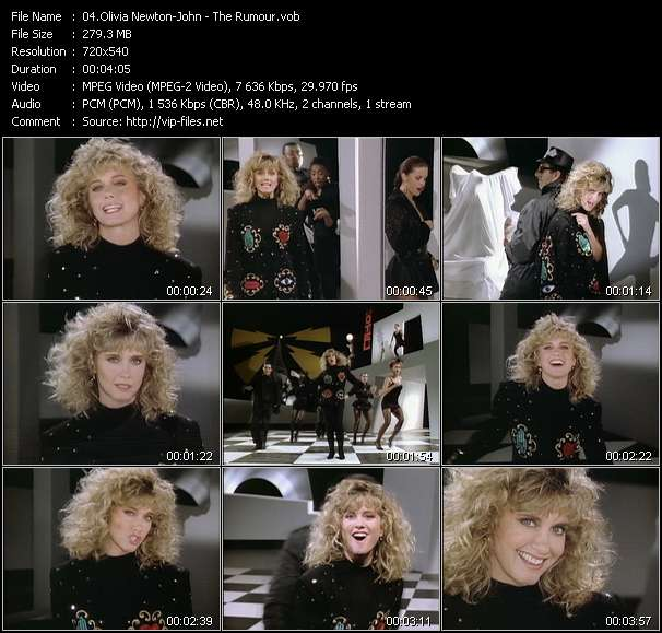 Olivia Newton-John video screenshot