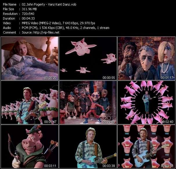 John Fogerty video screenshot
