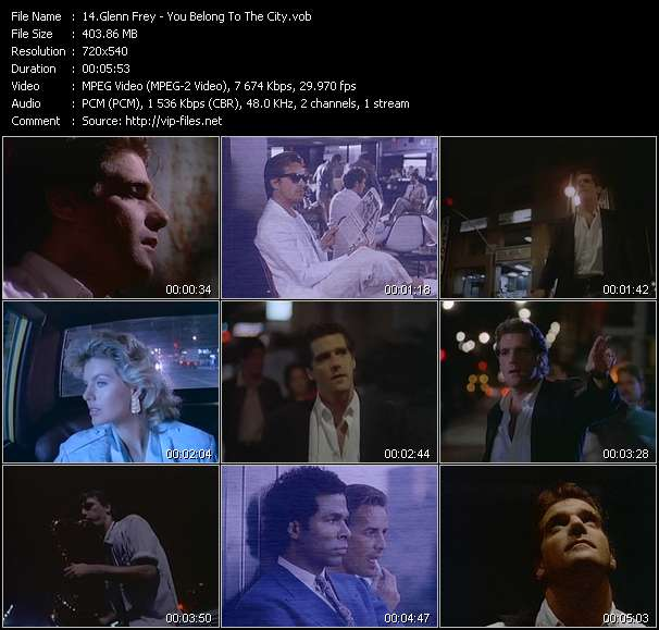 Glenn Frey video screenshot