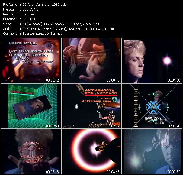 Andy Summers video screenshot