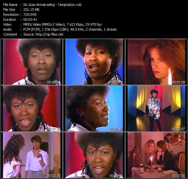 Joan Armatrading video screenshot