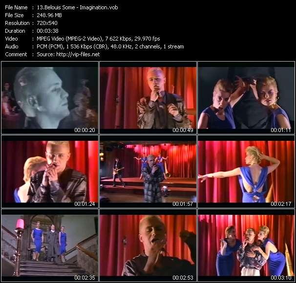 Belouis Some video screenshot