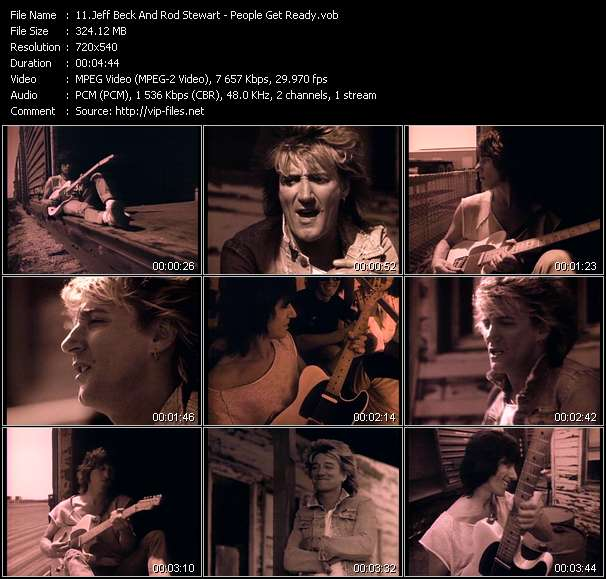 Jeff Beck And Rod Stewart video screenshot