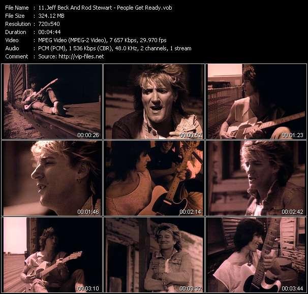 Jeff Beck And Rod Stewart video screenshot