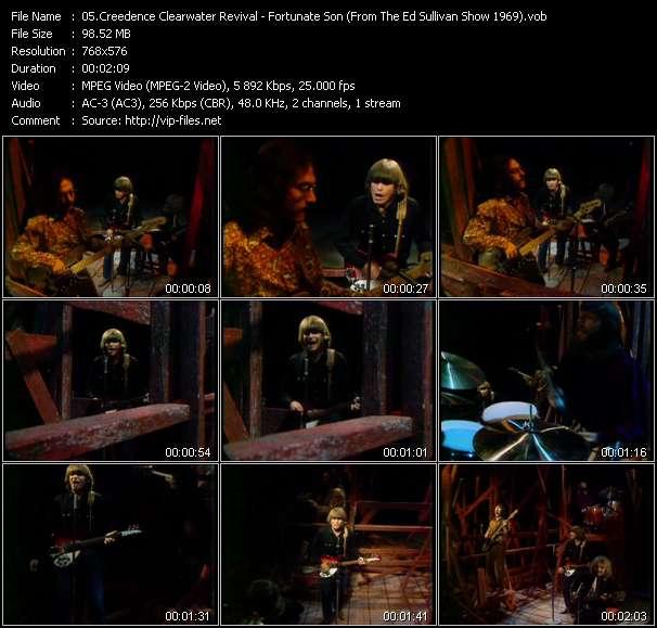 Creedence Clearwater Revival video screenshot