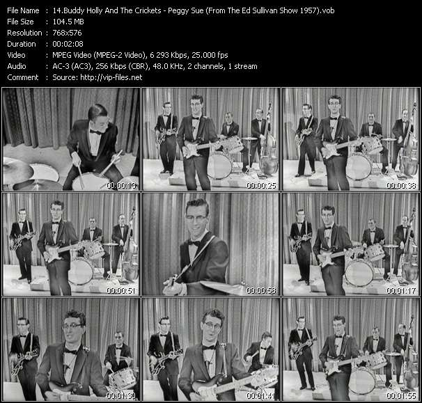 Buddy Holly And The Crickets video screenshot