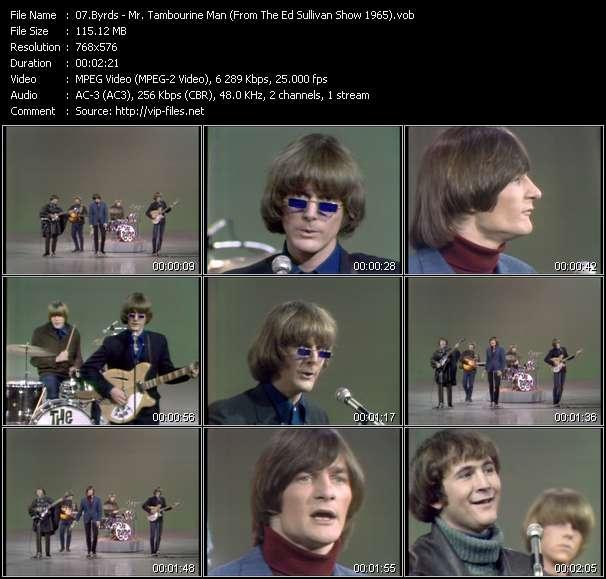 Byrds video screenshot