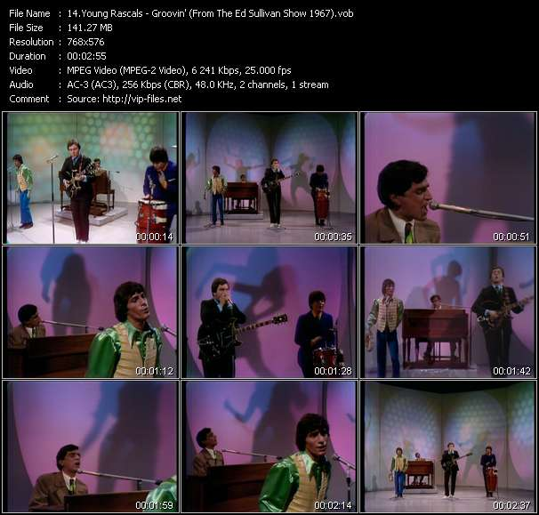 video Groovin' (From The Ed Sullivan Show 1967) screen