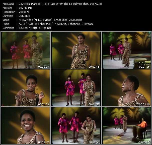 Miriam Makeba video screenshot
