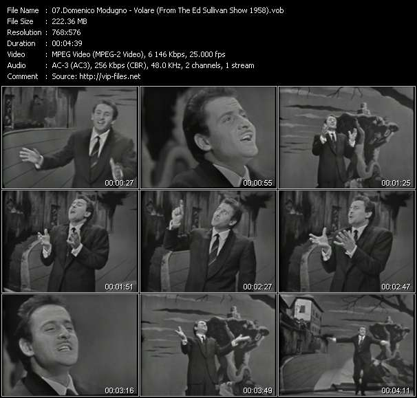 Domenico Modugno video screenshot